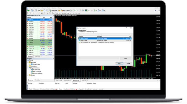 Stock and indices trading platforms with CFDs