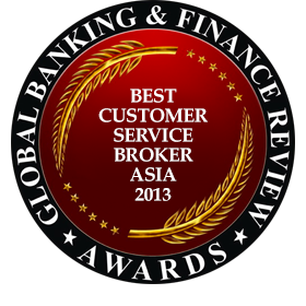 Best Customer Service Broker Asia 2013